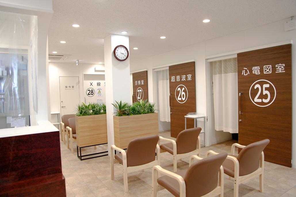 2階外健診センター待合室